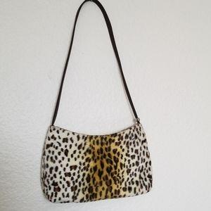 Brandnew ESPRIT leopard print shoulder bag